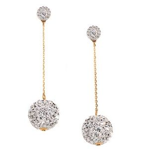 Kate Spade • Razzle Dazzle Linear Drop Earrings